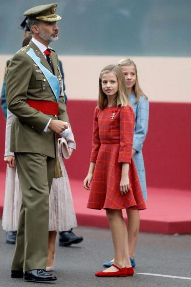 La princesa española leerá la Constitución en el Congreso el 31-O