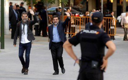 El martes 16-O, primer aniversario de los independentistas 'Jordis' en prisión