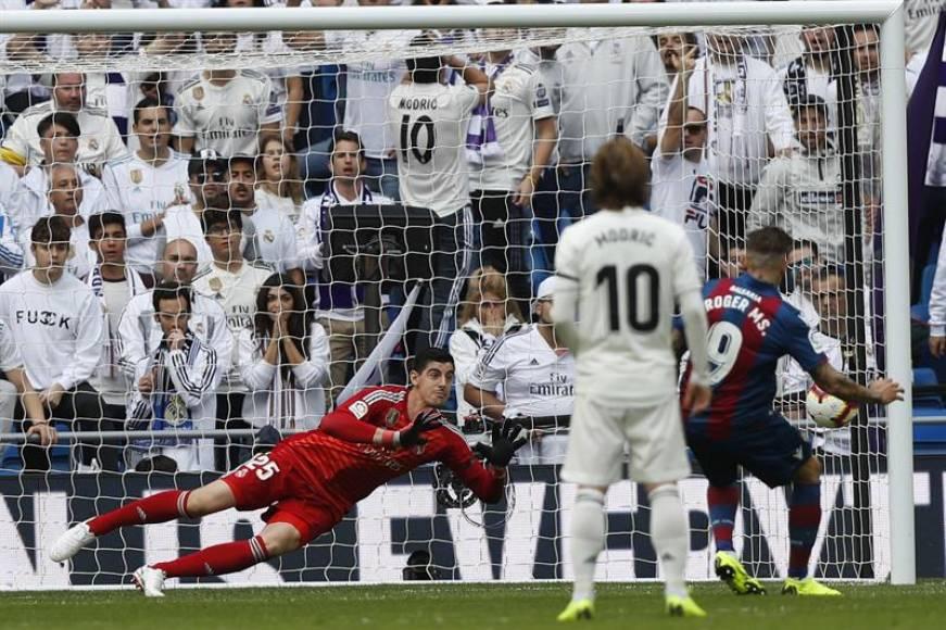 Segundo triunfo de la historia del Levante en el Santiago Bernabéu