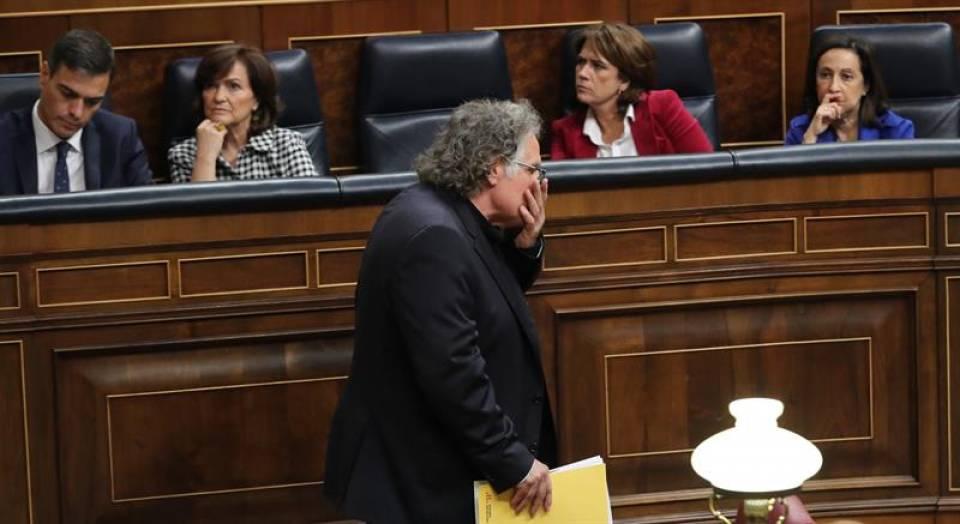 """Independentismo: """"Nos fusilaría Pablo Casado"""" y el PP """"nos metería"""" todos """"en la cárcel"""""""