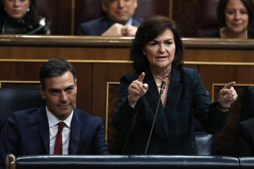 """El Gobierno de Sánchez exige explicaciones al PP sobre """"audios de Cospedal"""" con Villarejo"""