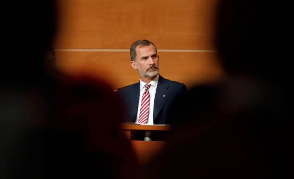 """El Rey llama a """"luchar"""" por la """"gran nación"""" española"""