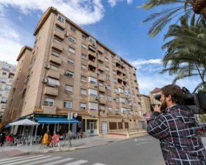 Fallecen mujer e hijo tras lanzarse al vacío desde un sexto piso en Murcia