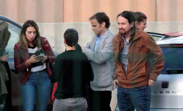 """Iglesias: Junqueras pide que Sánchez """"mueva"""" fichas para su libertad y un referéndum"""