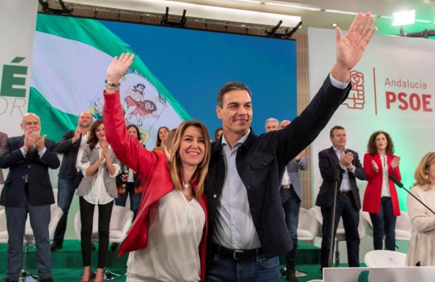 VOX se querella contra Susana Díaz por difamación