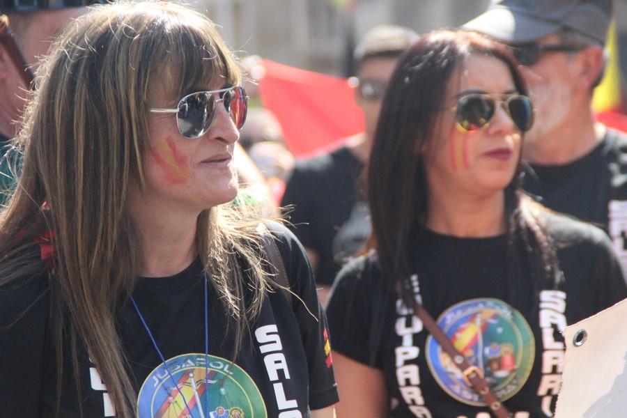 """Jusapol agradece a Cataluña por su 29-S y llevará ante tribunales a """"agresores"""" independentistas"""
