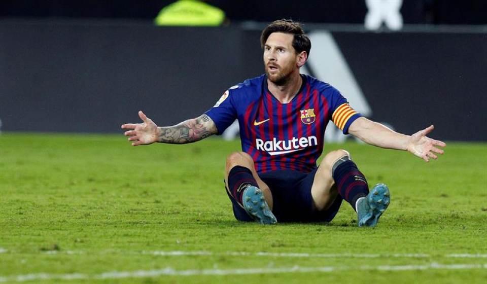 FC Barcelona enlaza 4 partidos seguido sin ganar, (1-1) ante Valencia y Sevilla ya es líder