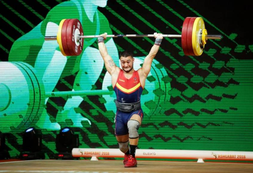 El español Víctor Castro, récord de España en Asjabad (Turkmenistán)