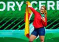 La española Lydia Valentín, mejor halterófila del año