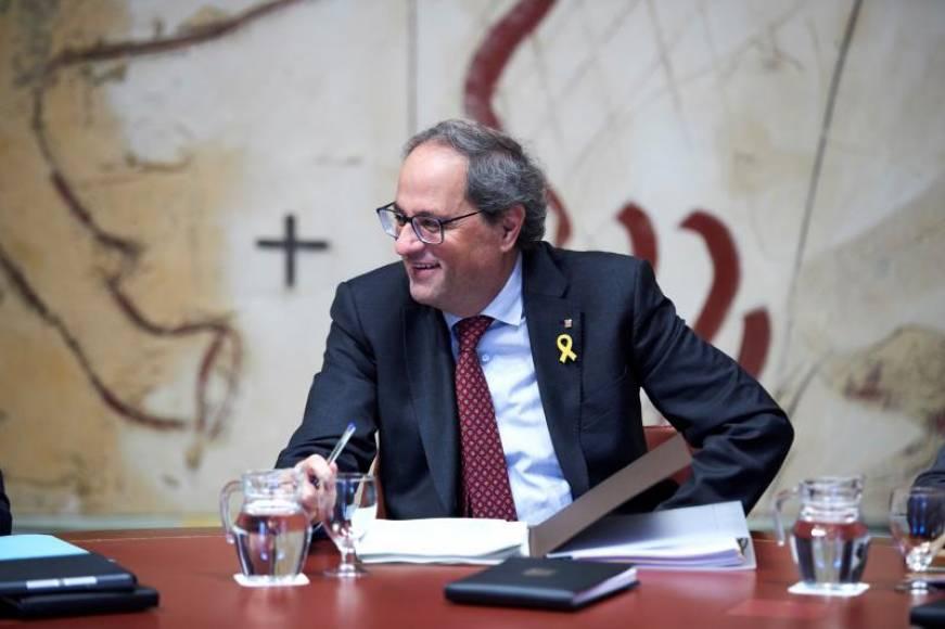"""Torra: """"La Constitución española es una prisión"""", nadie la """"celebra en Cataluña"""""""