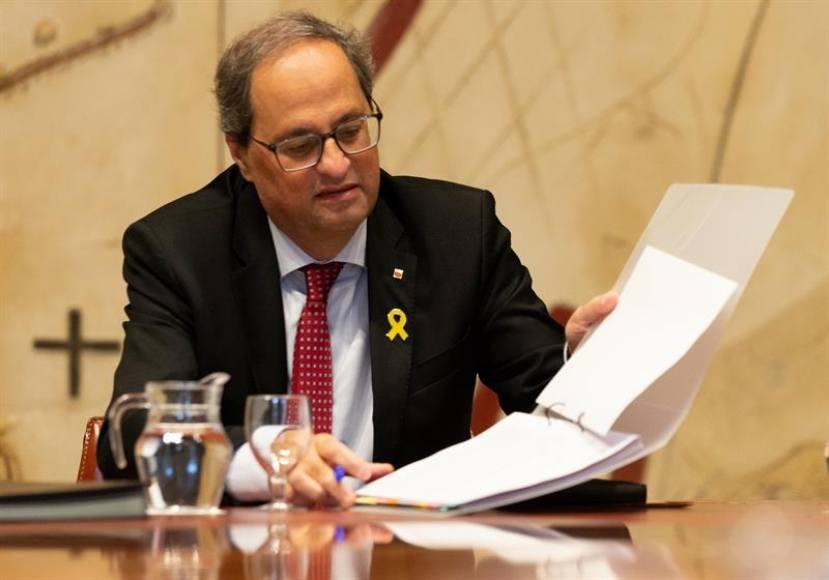 """PP Cataluña urge a """"destituir"""" a Torra por el 155 de la Constitución"""