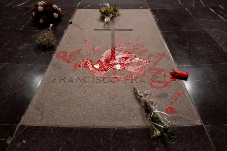 Detenido Enrique Tenreiro, el profanador de tumba de Franco y cristianos católicos