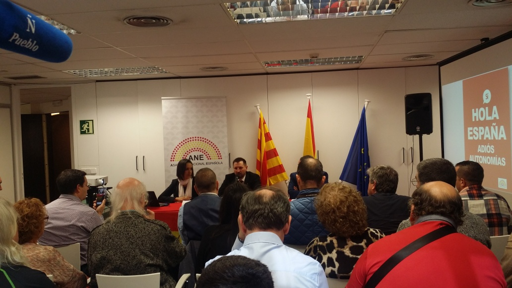 """Nace en Barcelona «Asamblea Nacional Española» para """"promover"""" la idea España"""