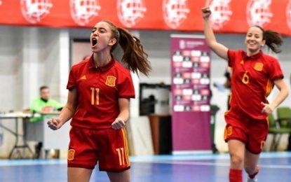 España se impone con autoridad a Rusia