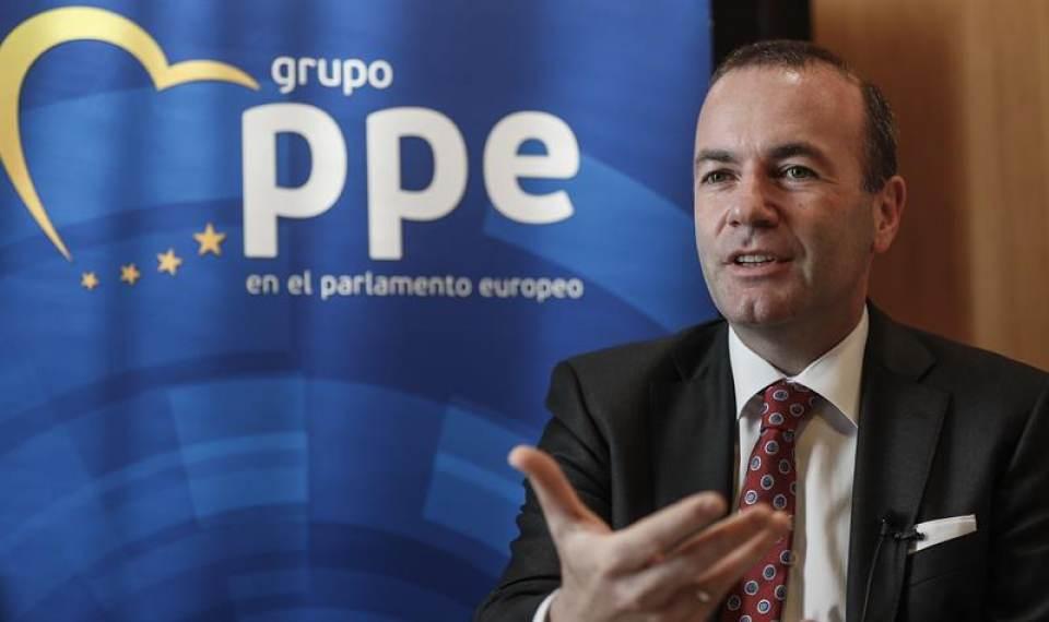 """Alemán Manfred Weber: """"Pedro Sánchez es débil"""" ante defensa de la Integridad de España"""