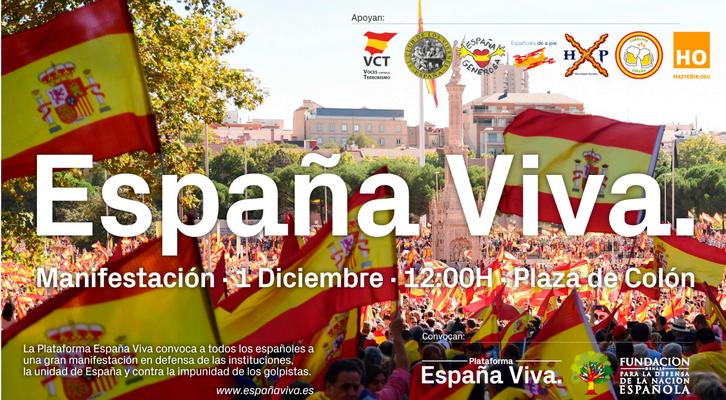 """VOX confirma su """"asistencia"""" al 1-D de DENAES y «España Viva al» al que """"ha sido invitado"""""""