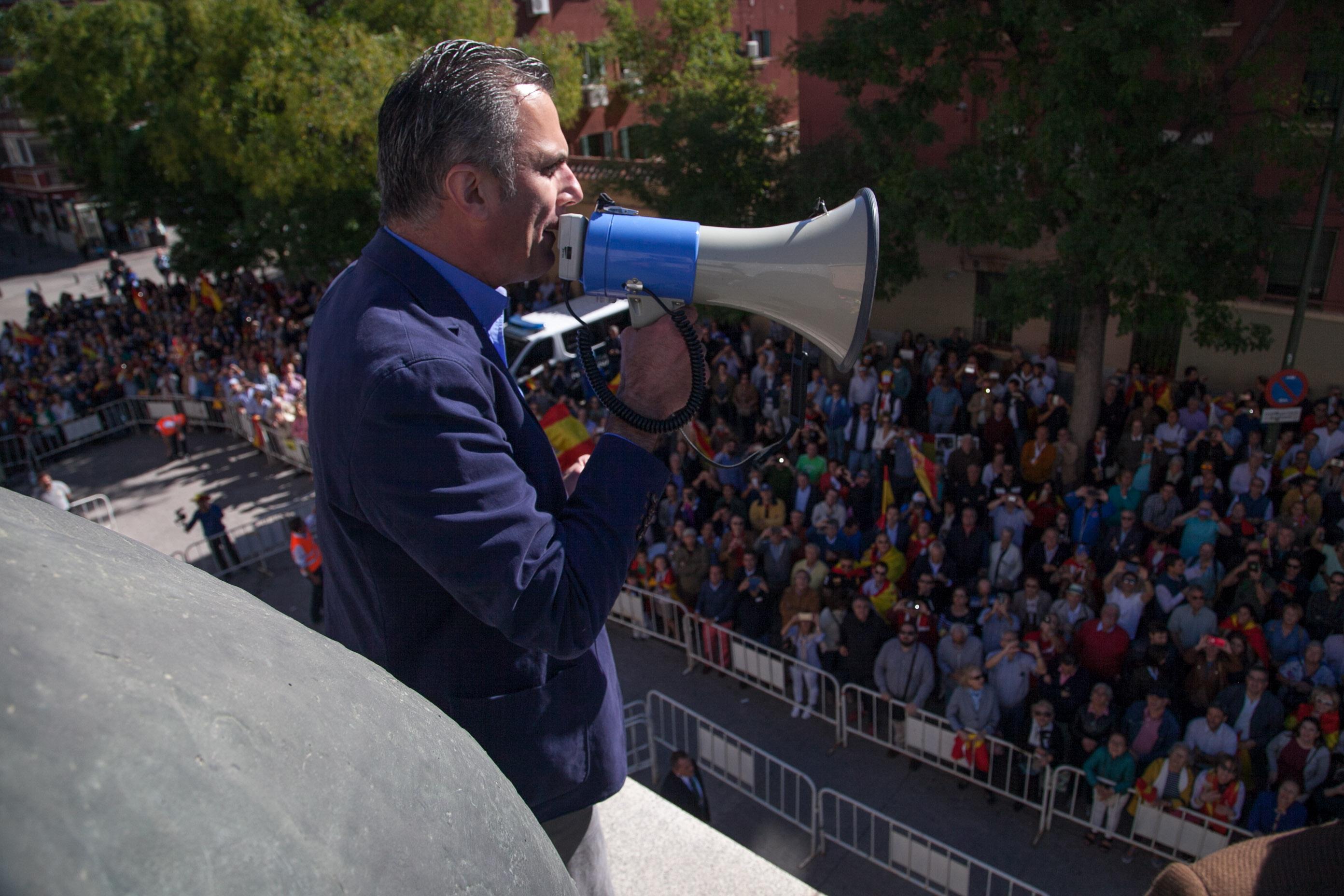 """VOX: Después de """"Andalucía"""" vamos a """"Cataluña con candidatos valientes a combatir el golpismo"""""""