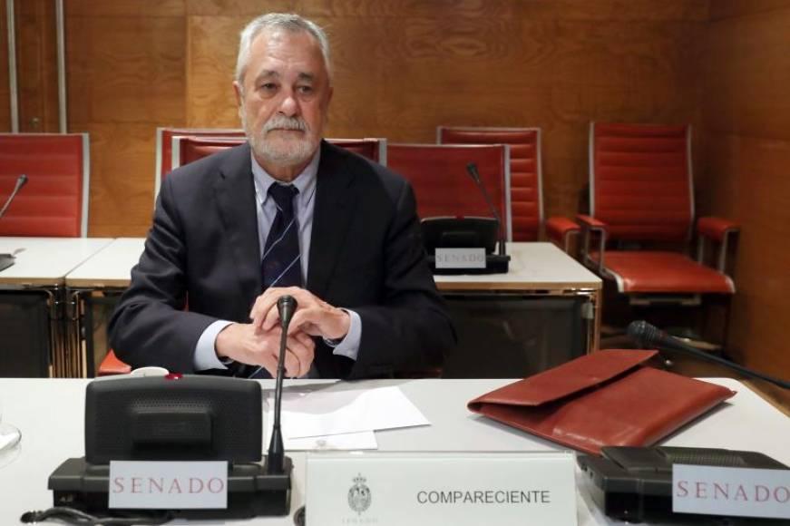 """Griñán (PSOE) ante el Senado: No voy a decir """"ninguna palabra"""" sobre los EREs falsos"""