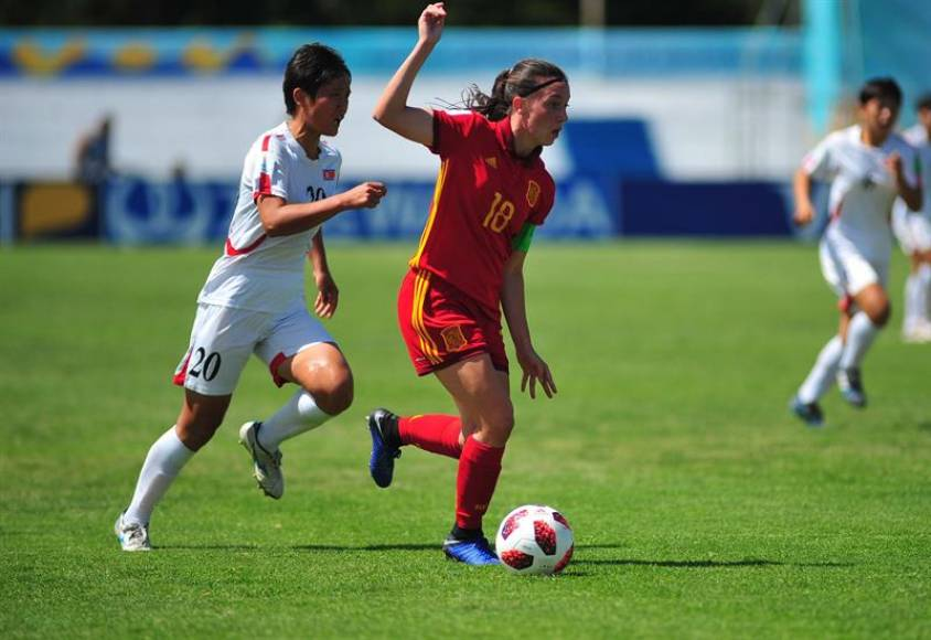 Las españolas llevan a España a las semifinales del Mundial Sub'17