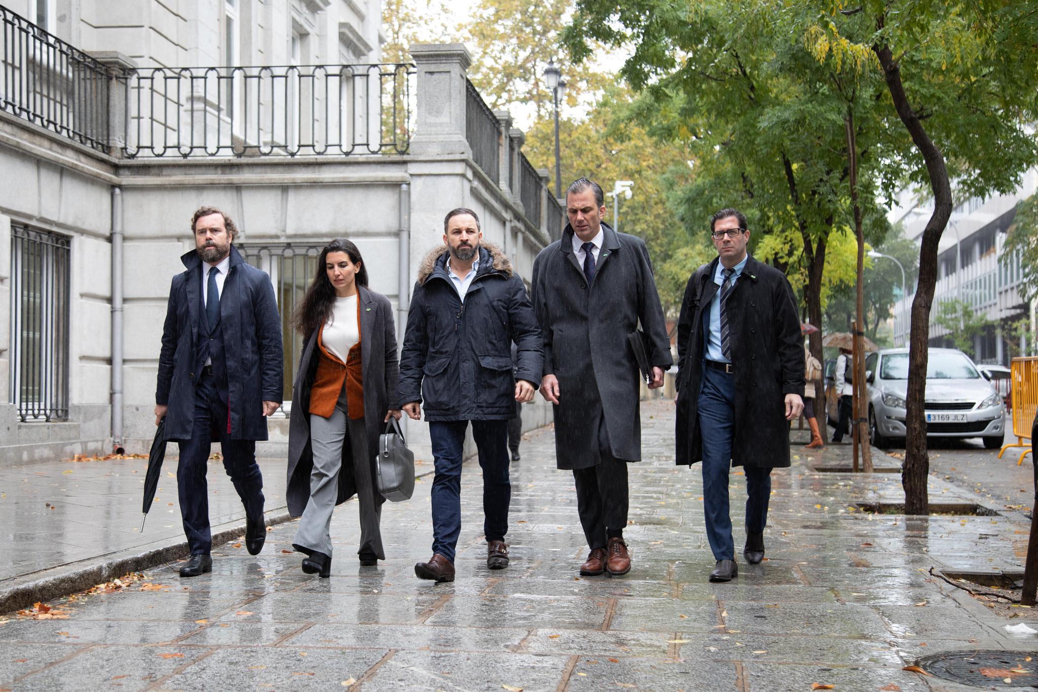 """Abascal: """"El golpe de estado trasladó su residencia de Cataluña al Gobierno de Sánchez"""""""