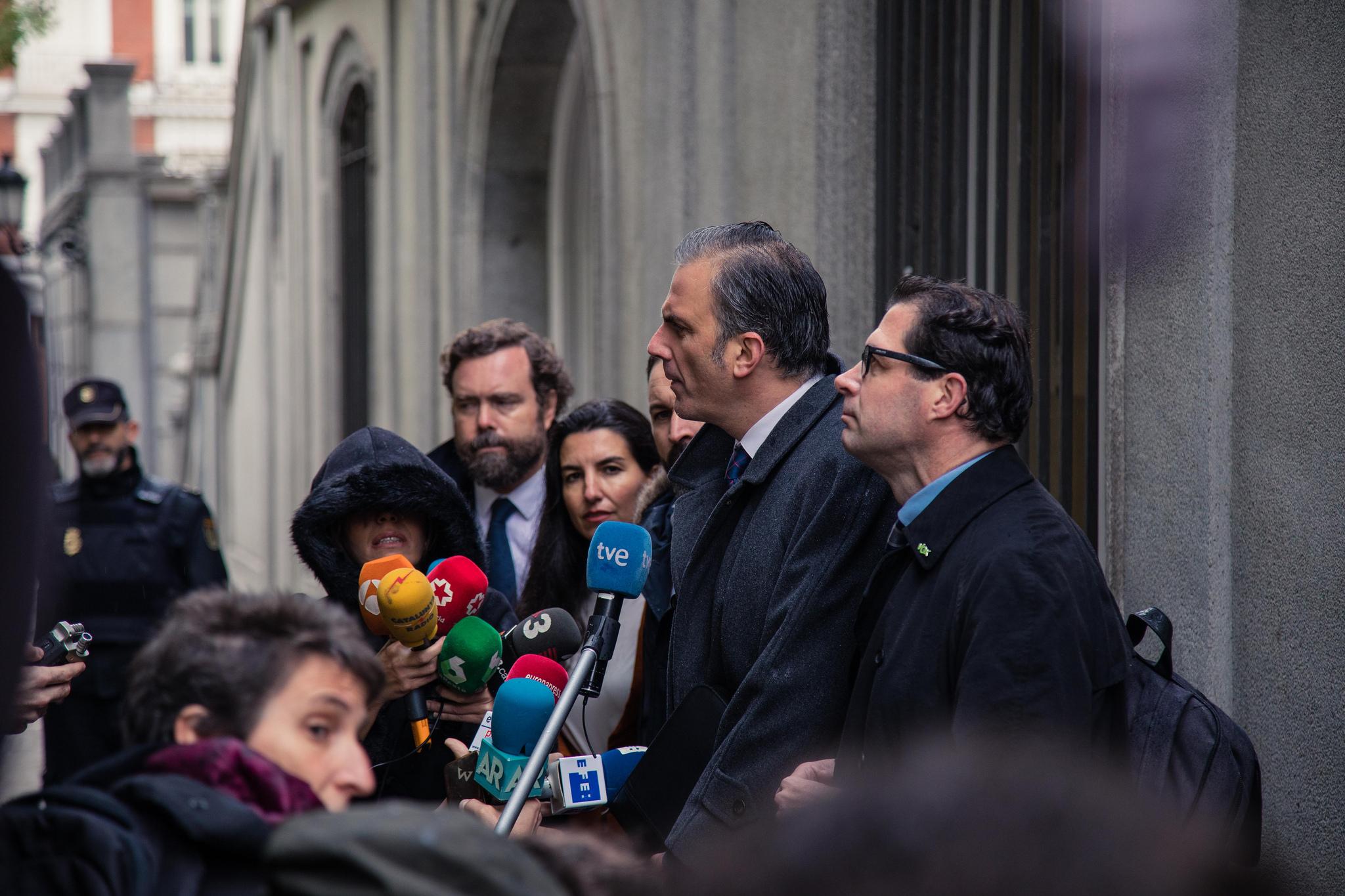 Plazo de 3 días a Fiscalía y VOX sobre competencia del Supremo en el Juicio del 'Procés'