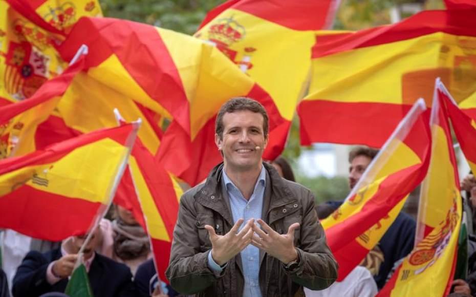 """Pablo Casado: Quiero liderar la lucha contra el """"Gobierno"""" traidor de """"Sánchez"""""""