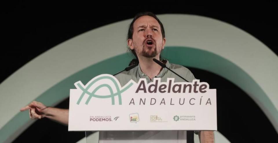 """Iglesias llama """"Primo de Rivera"""" al líder de VOX y cuestiona el """"patriotismo"""" de Abascal"""