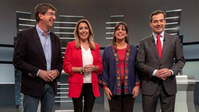 VOX muy presente en el segundo debate del 2-D andaluz