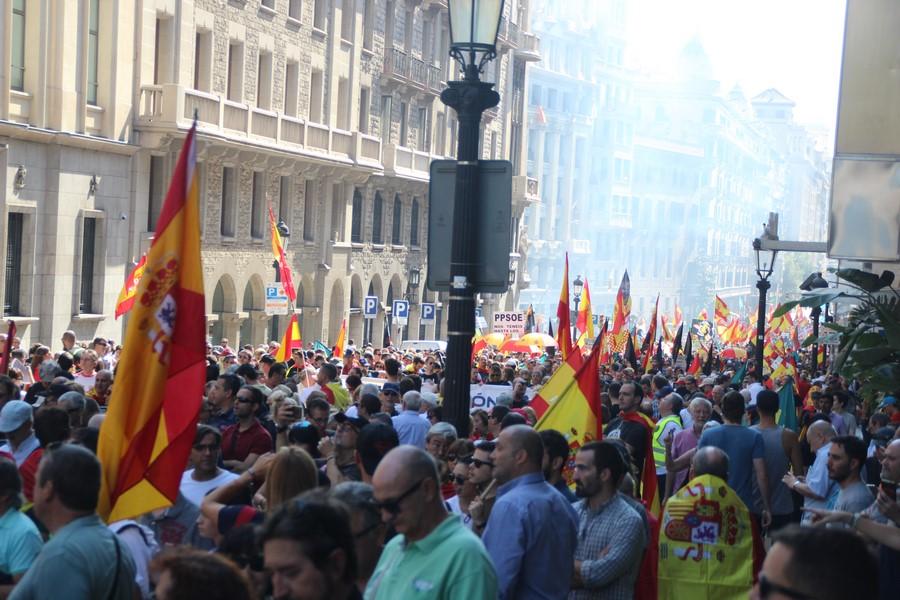 """Jusapol llama a asistir al 10-N """"pacífico"""" en Barcelona para una """"Equiparación Real"""""""