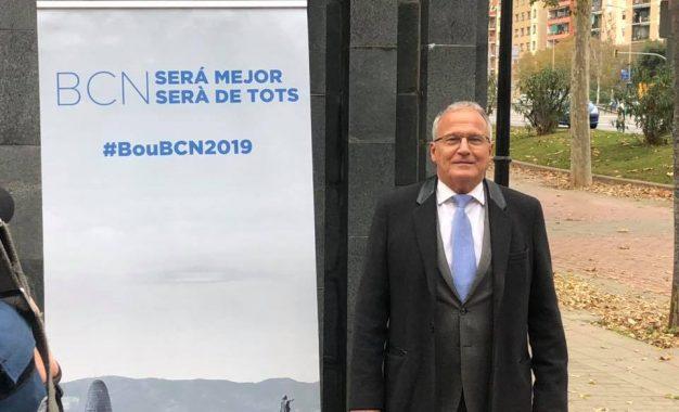 Josep Bou presenta su candidatura a Barcelona en las listas del PP