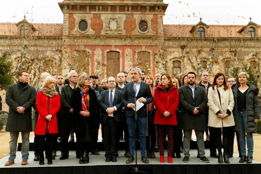 """PSOE Cataluña: """"No permitiremos que ni VOX ni sus discursos entren en las instituciones"""""""