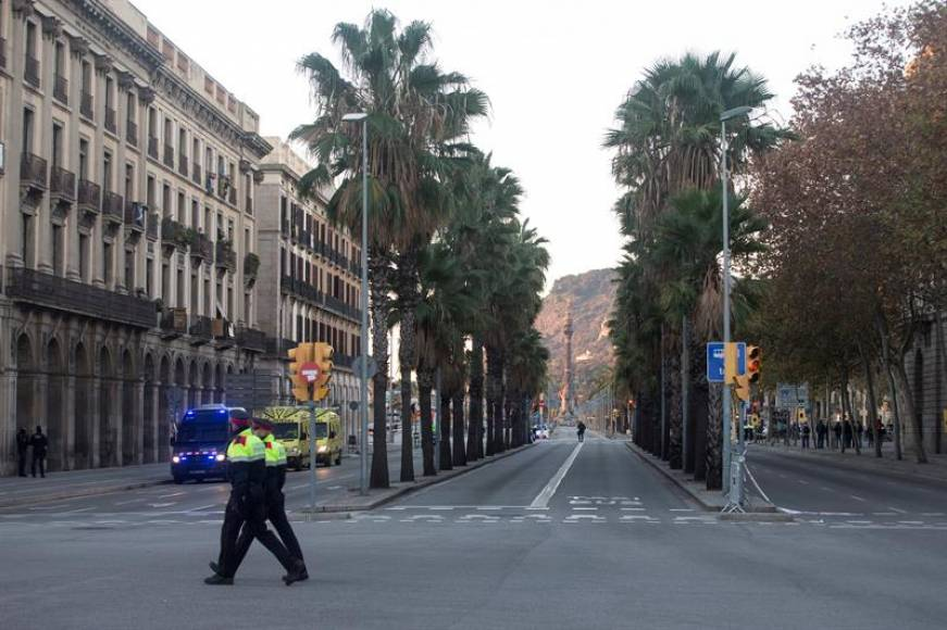 Los comandos independentistas reducen un 53% el tráfico de entrada a Barcelona