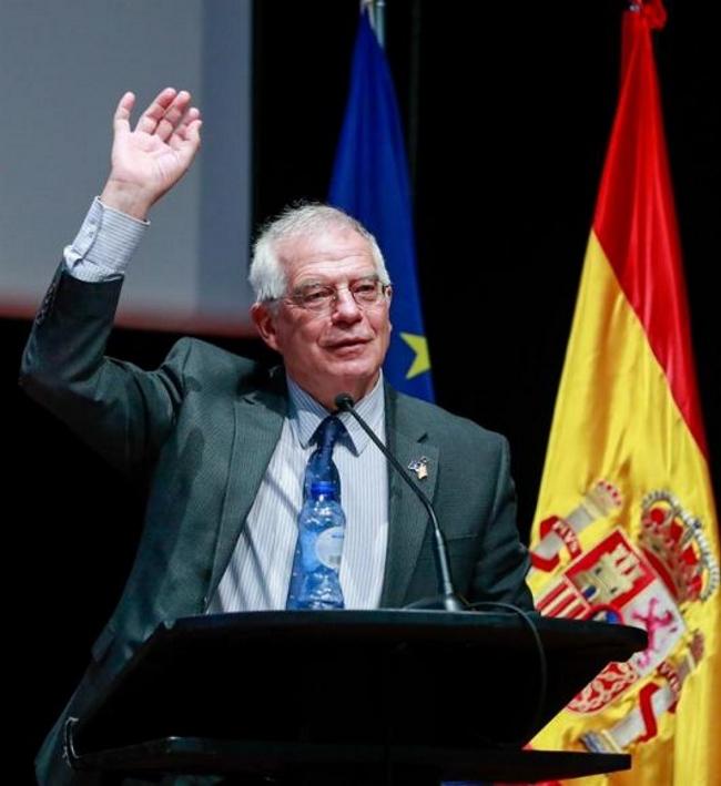 """Borrell: """"Hay que luchar contra"""" el discurso independentista y aliados en Cataluña"""