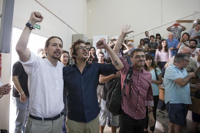 """Kichi (Podemos): """"El PP está echando sus excrementos que se llaman VOX"""" sobre los españoles"""