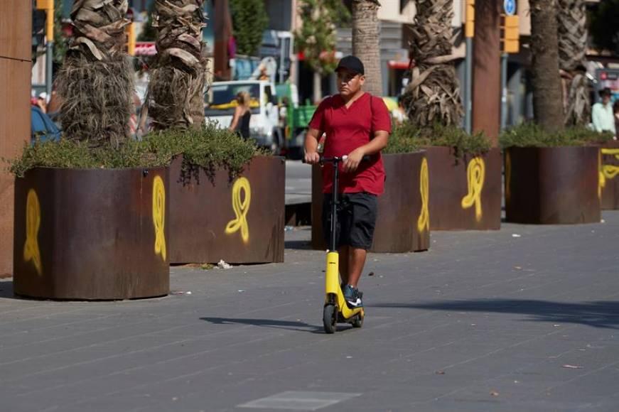 273 accidentes de patinetes con lesiones, 203 responsabilidad del patinador en España