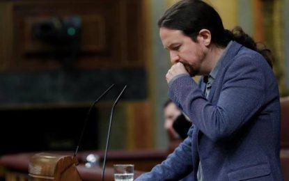 """Iglesias: """"Yo echo de menos a la Derecha responsable, a Torra solo se le ha calentado la boca"""""""