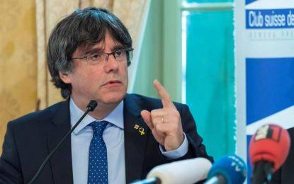 Puigdemont denuncia al pueblo español ante la ONU