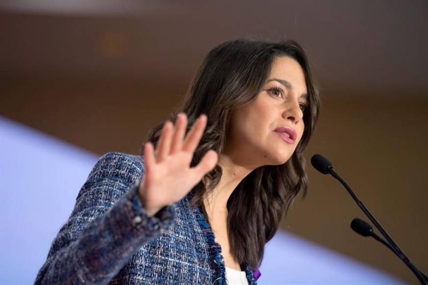 """Arrimadas: """"Sánchez nos vende al separatismo"""" y Torra apela """"a conflicto civil con violencia"""""""