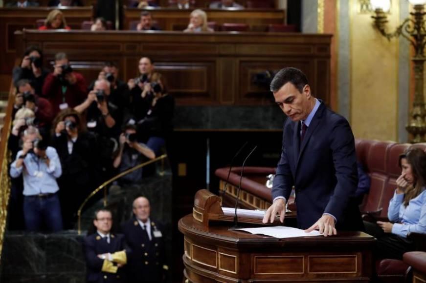 """Sánchez descarta el 155 en Cataluña pero será """"firme y contundente"""""""