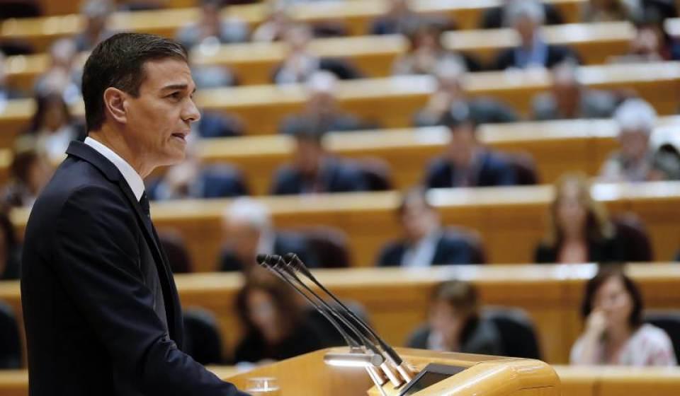 """Sánchez denuncia que España es """"rehén del PP"""""""