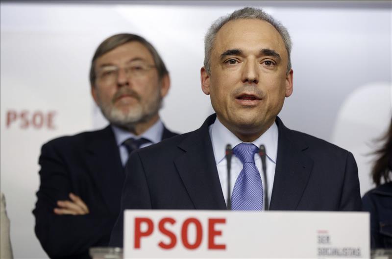 """PSOE: """"El pacto (PP, Cs y VOX) en Andalucía es una traición a España"""""""