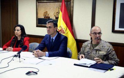 """Sánchez: El Ejército es un """"pilar fundamental"""" para la seguridad Nacional de España"""