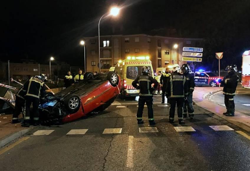 Un atropello múltiple en Alcalá de Henares (Madrid) deja a 2 heridos graves y 3 leves