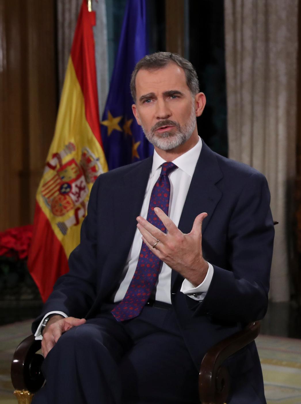 """El Rey insta a garantizar la """"convivencia en España"""""""