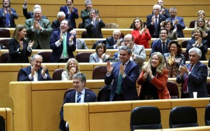 El PP usa su mayoría absoluta en el Senado para intensificar al máximo su papel opositor