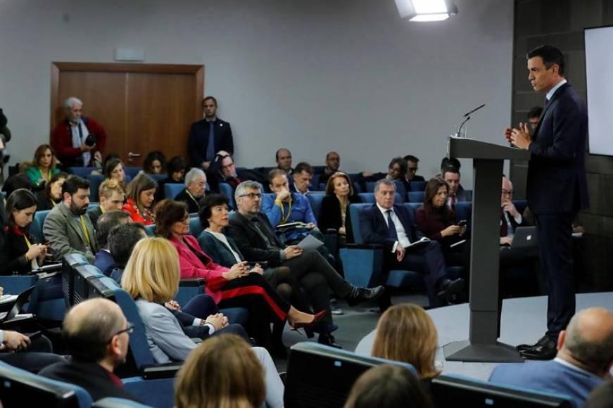 """Sánchez dice que aplicará el 155 en Andalucía para """"defender la seguridad y la libertad"""""""