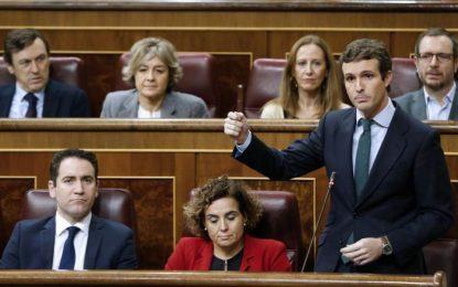 """Casado: Quim Torra busca el """"derramamiento de sangre y una guerra civil"""" en Cataluña"""