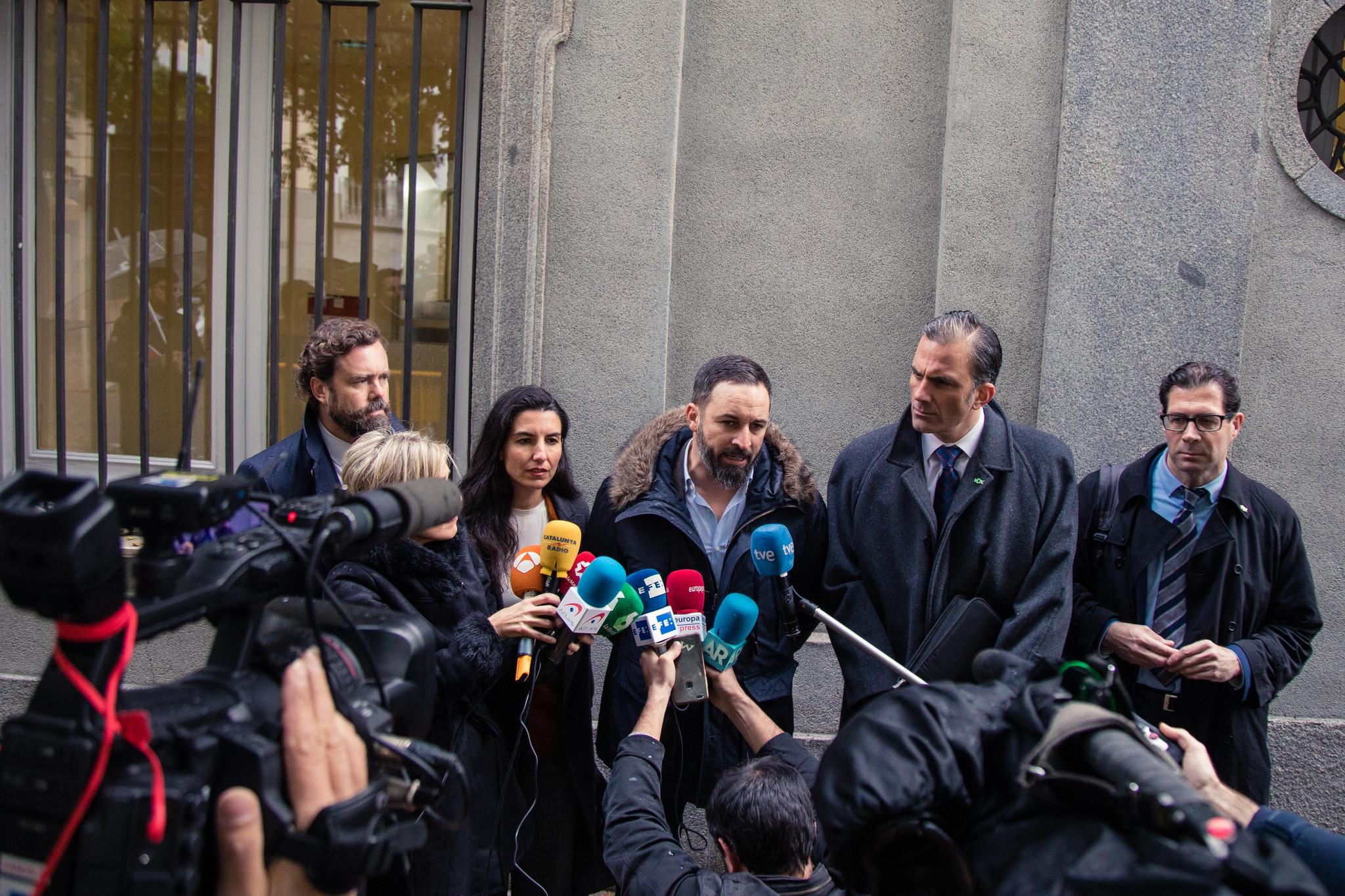 """VOX solicita hoy la """"detención y prisión preventiva"""" de Torra ante el Tribunal Supremo"""