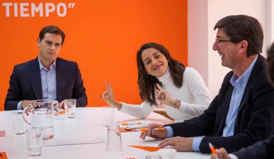 """Cs dice que quiere Gobernar Andalucía con apoyo del """"PSOE"""" y Susana Díaz"""