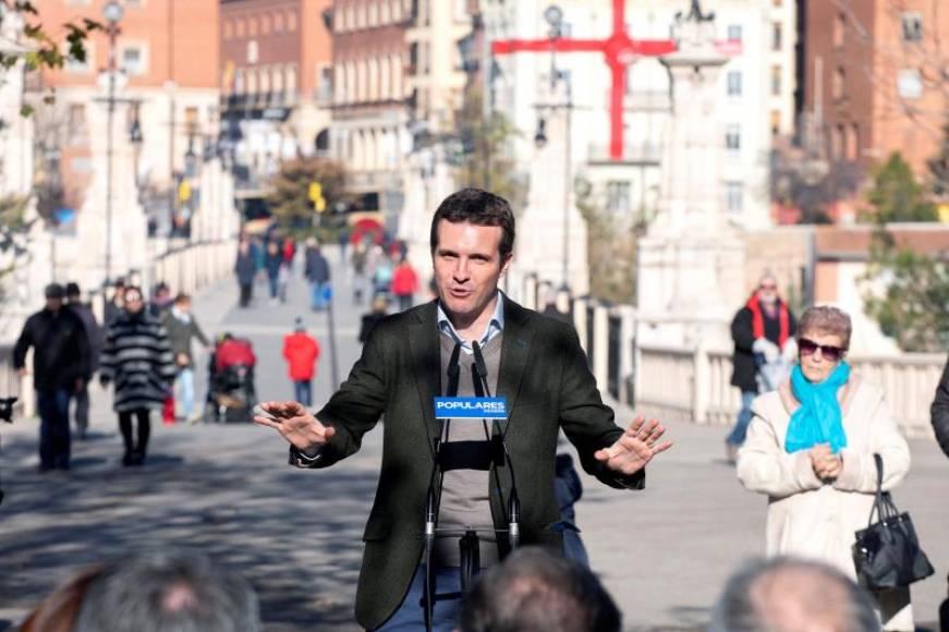 """Casado exige un 155 por la """"kale borroka"""" de comandos """"independentista"""" en Terrasa y Gerona"""